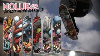 Nollie Co. Beast Mode Series Decks