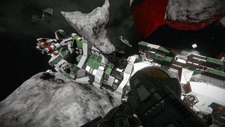 Encounter Mercenary Wreckage