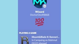 Discord Rich Presence for Bannerlord