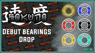 Sokudo Bearings - Bold Series (Debut Drop)