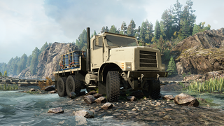 RNG M23 Military Truck
