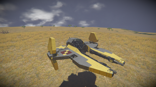 Star Wars Eta 2 Jedi Starfighter