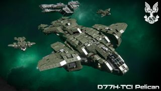 UNSC D77H-TCI Pelican Halo 2-3