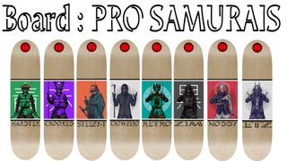 Board PRO SAMURAI 8 Decks