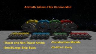 Azimuth 240mm Flak Cannon Mod