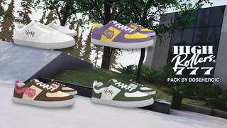 Highrollers777 Sneaker Trio Pack
