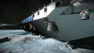 base ship - carrier - printer