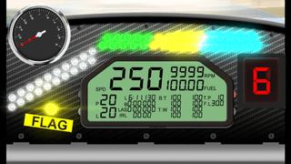 Shift lights as RPM indicator