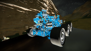 Giant rover 2.1 with boaster