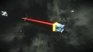Space minenig ship