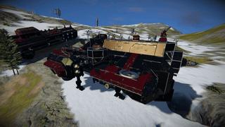 B-60 Bulk Freighter Refit