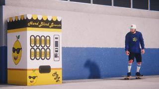 Hard Blind Lemonade Vending Machine Object Dropper