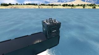 1x1x1 Small Ship Merge Block