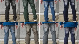 8 Colorways Flowerface Mahagoni Jeans