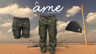 Ame Cargo and Beanie pack [XLGM Exclusive]