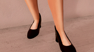 Thick Heeled Shoes