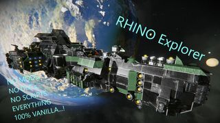 Rhino Explorer Ship with Cluster Missile's