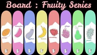 Board Fruity Series 8 Decks