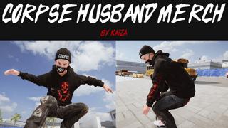 Corpse Husband Official Merch
