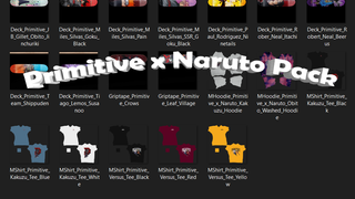 Primitive x Naruto Pack