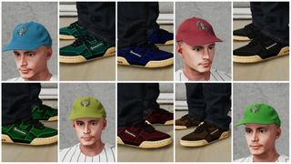 Down Shoes Zyklo 6 colors + 4 Dadhats