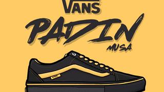 Vans Old Skool Pa'din Musa Black/Yellow