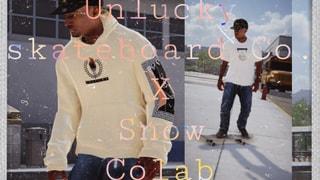 Unlucky Skateboard Co. X Snow Colab