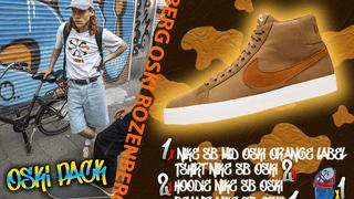 Oski Pack Nike SB Blazer Mid and more !