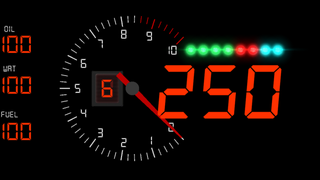 basic rpm gauge