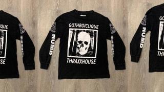 GothBoiClique Thraxxhouse LS Shirt