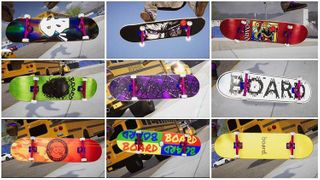 BOARD Decks 9 pcs Mixed