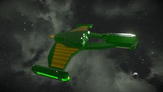 Star Trek Romulan Griffin class
