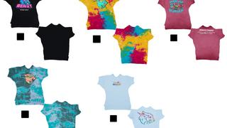 5 MrBeast T-shirts