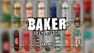BAKER SKATEBOARDS DECK PACK