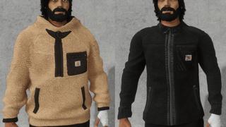 Carhartt hoodie and jacket
