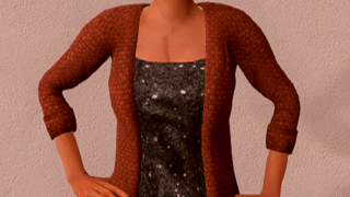 Cardigan with Top