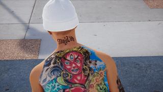 Full Body Tattoos + Back of Neck