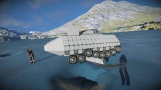 SPC light assault tank