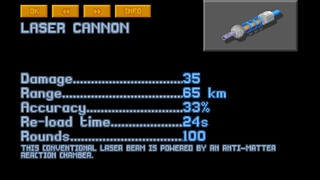 Long Range Laser Cannon