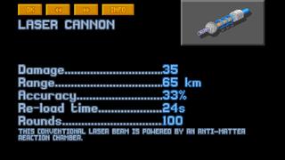 Long Range Laser Cannon