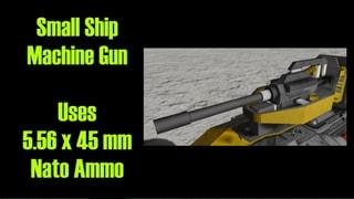 Small Ship 5.56 mm Machine Gun