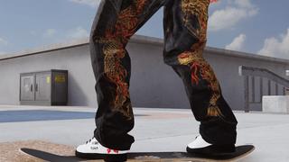 Samurai Jeans Dragon Print