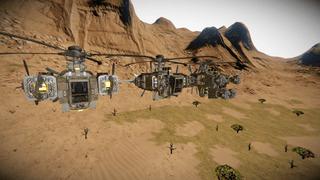 Wasteland Series Utility Ships