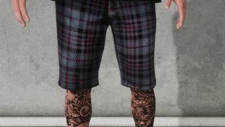 3 Shorts Plaid