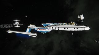 Star Trek - Rushmore Support Cruiser