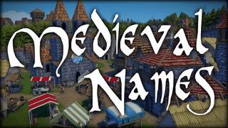 Medieval Names