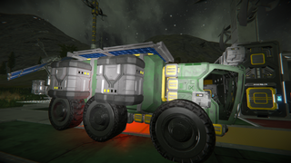 Mine Truck Transport
