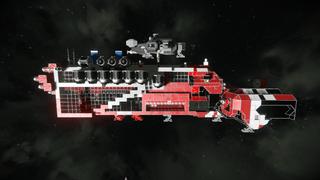 Large Ship 7434