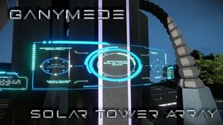 Ganymede Solar Tower - No Scripts