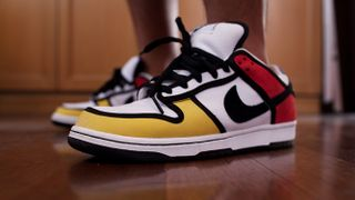 Unofficial Nike SB Dunk Custom Piet Mondrian Shoes